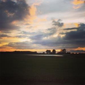 zeeuwse polder zonsopgang