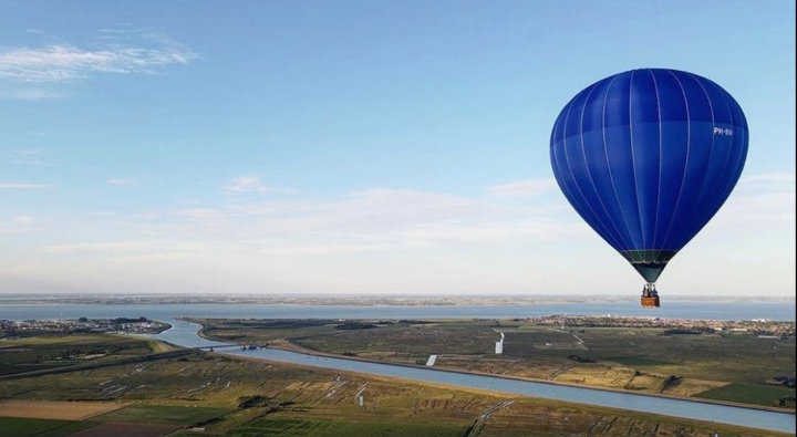Zeeland vanuit de lucht: kijk eens naarbeneden
